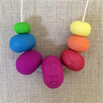 'Pride' Polymer Clay Necklace