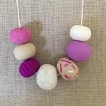 'Flirty' Polymer Clay Necklace