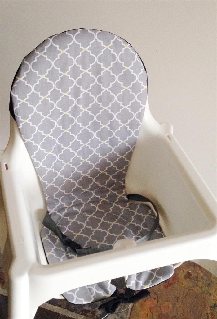 IKEA Antilop Highchair Insert/Cover - Grey & IKEA Antilop Highchair Insert/Cover - Grey | Cuts with Kylie ...