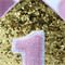 First Birthday Crown - Pink and Gold Glitter - Cake Smash - Photo Prop