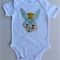 Bunny   onesie,size 00, perfect for Easter.