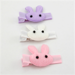 Set of 3 Easter Bunny Hair Clips
