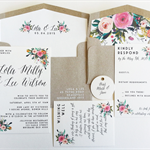 """Lizzy"" Invitation Suite"