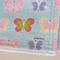 Butterfly Flannel Baby Blanket