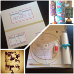 DIY Lampshade Kit - Small. Make your own lampshade using fabric of your choice!