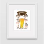 Beer Around the World - Wall Art Print