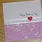 Gorgeous Mother's Day card - pink swirls