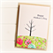 Happy Mother's Day card birds and tree garden floral