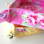 Nesting Tray Set - {Pink/Yellow Flower Sugar}