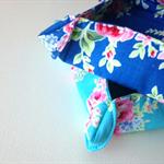 Nesting Tray Set - (Blue  Flower Sugar)