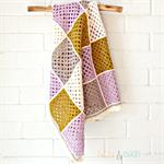 baby blanket | crochet  patchwork granny squares | newborn gift | wool