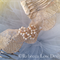 bridal hairpiece wedding lace pearl beaded