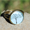 Flossie Bronze Dome Ring Adjustable Tree of Life