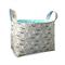 Fabric Storage Organiser Bin Basket - Scandinavian Woodland Fox in Pale Blue