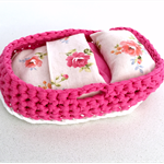 Baby Doll Moses Basket | Floral