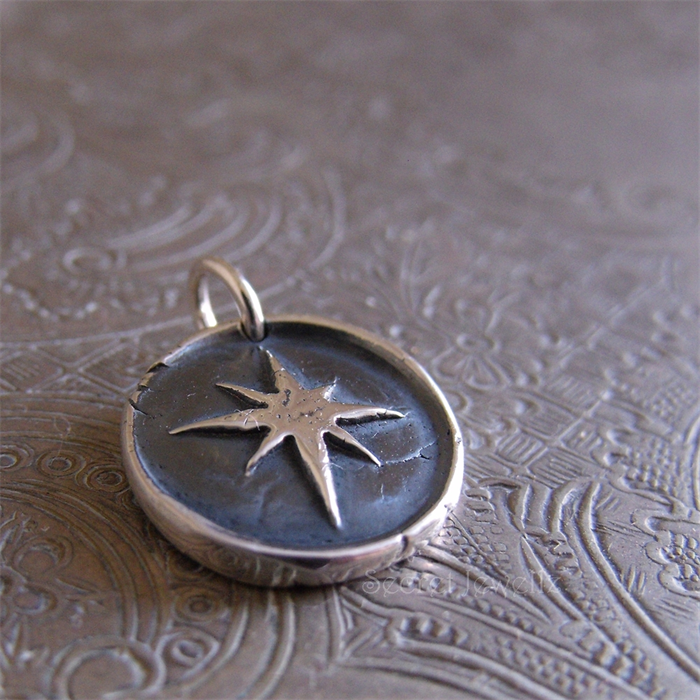 star layla mae image product zoom north delicate necklace aluna pendant silver