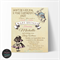 Vintage Alice in Wonderland Baby Shower Invitation, Print your own