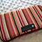 Pink Stripe Storage Case