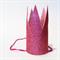 Pink Glitter Princess Crown Headband