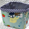 Fabric Storage Box - Teacher Owl
