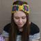 Vintage Virtues Mustard Granny Square Crochet Ear Warmers