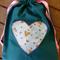 Drawstring bag for Quiet Book