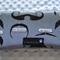 Moustache Grey Wipes Case