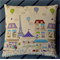 Balloons over Paris Cushion