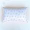 Peach Flower Organic Cotton Cushion Cover