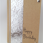 Birthday Card - Foil Embossed