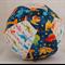 Balloon Ball Cover - Fabric Cover - dinosaurs