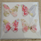 Shabby Chic Butterfly  Blank  card