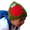 Winter Baby Crochet Knit Hat Beanie Custom Made - Luxury Wool 22 Colours - Apple