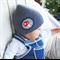12 months+ Baby Boy Winter Beanie Knit Crochet Hat - Mushroom