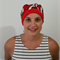 surgical hat/ Scrub hat / Theatre hat / Red chilli / chemotherapy