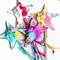 Garden Flower Fairy Wands - custom spot - your choice of design