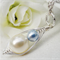 Mother And Son Handcrafted Peapod Necklace New Mother Gift Expectant Mother Baby