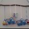 Handmade Baby/Children's Mobile. Wall Hanging. Nursery Art