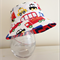 Boys summer hat in bright vehicles fabric
