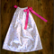 Pink Poka Dot Pillowcase Dress Size 12mths