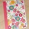Blank female card - flower design