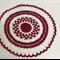 Xmas Crochet Table Doily