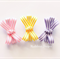 "Toddler, girl hair clips trio.""CANDY SHOPPE"" mini bows"