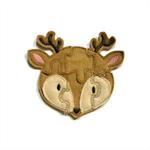 Woodland Deer Felt Jigsaw Puzzle