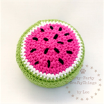 Watermelon Pincushion, Sewing Accessories, Gift