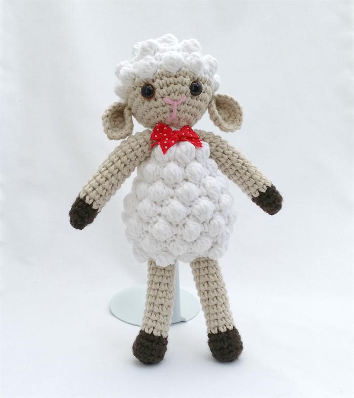 Amigurumi Sheep Doll : Lambsie, Crochet Toy, Amigurumi Lamb, Doll, Gift Arty ...