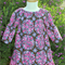 'Crazy Love' Girls 3/4 Sleeve Ruffle Peasant Dress 