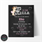 E is For Ella Birthday Invitation, Print your own personalised invitation