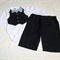 Boys  vest and bow tie long sleeve onesie and pants set Size 000, 0 - 3 months