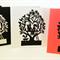 'Family Tree 4' Papercut Gift Card